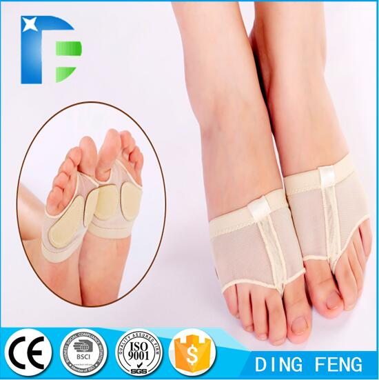 Footcare Toe Protector ballet silicone toe pad thongs