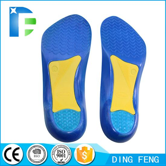 Plantar Fascia Gel Shoe Insole for Heel Spurs and Plantar Fasciitis