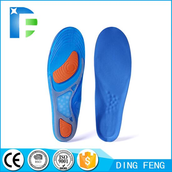 Orthopedic insoles for flat feet custom orthotic insoles silicone shoes