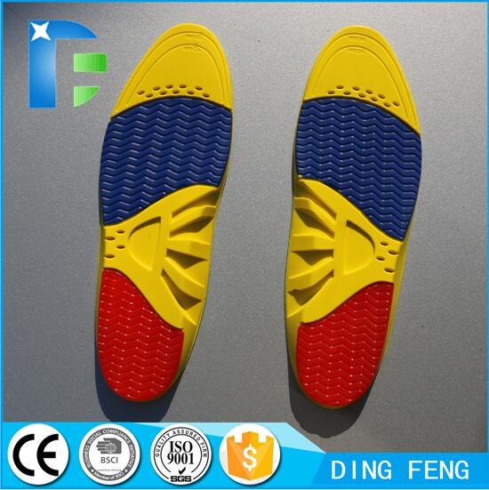 PU GEL Sport Arch Support Insole men and Women