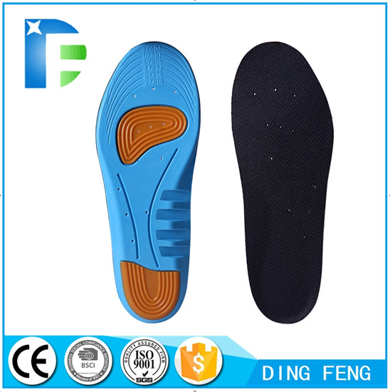 Orthotic Cushioning Arch Support Shoe Insole for Flat Foot Plantar Fasciitis