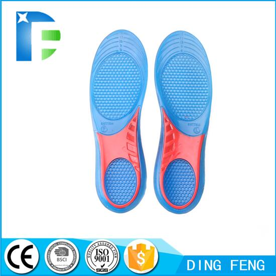 Gel Comfort Massaging Insoles with Arch Support