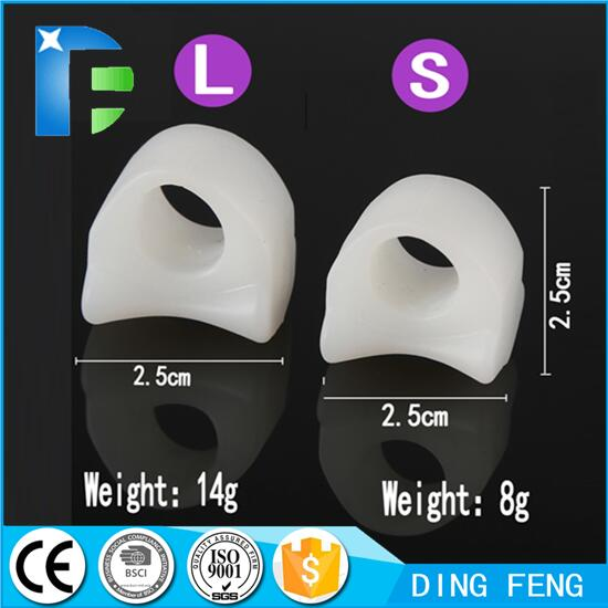 Gel Toe Separators Stretchers and Straightener Bunion Protector thumb valgus protector Bunion adjuster